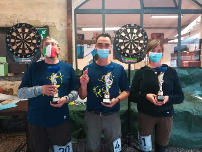 Vincitori del Trofeo CSAIn soft darts Fiesole 2020