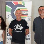 Laura Scalvenzi (Vicesindaco del Comune di Montechiarugolo), Marco Vercesi (Vicepresidente CSAIn), Assessore allo Sport Dott. Paolo Schianchi