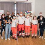 Operatori AP Croce Azzurra Traversetolo e staff Chiesi Farmaceutici