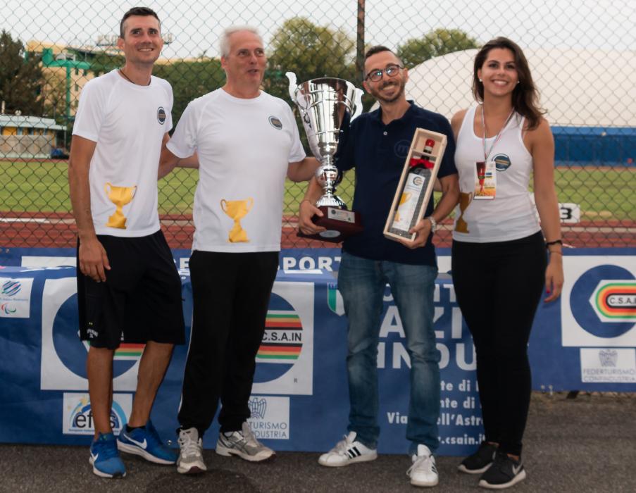 Mediolanum - vincitrice 1° edizione Companies Challenge